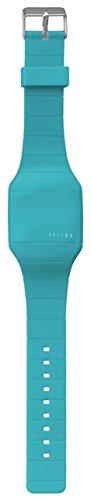 Dakota Girl's Quartz Plastic and Silicone Casual Watch, Color:Aqua (Model: 51277) Aqua Girls Watch