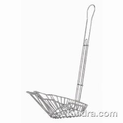 Taco Restaurant Salad Basket Bowl (Winco TB-22, 18-Inch Triangle Taco Salad Bowl Basket, Deep Fryer Taco Holder Basket, Commercial Heavy-Duty Taco Fry Basket with Handle)