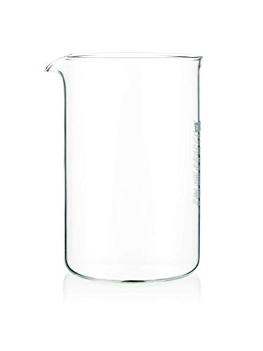 Bodum 1512-10 Spare Carafe for French Press, 51 Ounce (12 Press French Bodum Cup)