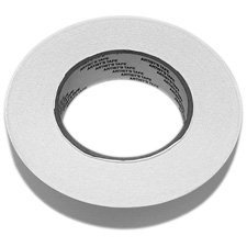 - White Removable Console Tape 1/2in