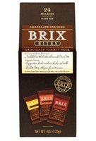 Brix Chocolate Bites, 3 Flavors, 24PC 6.0 OZ (Pack of 2)
