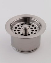 Jaclo 2829-SC Extra Deep Disposal Flange with Strainer, Satin Chrome by Jaclo