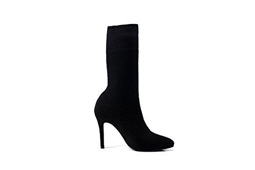 BalaMasa  Abl09479, Sandales Compensées femme - Noir - noir,