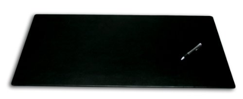 Dacasso Leatherette Office Desk Pad, 30 by 19-Inch, Black by Dacasso