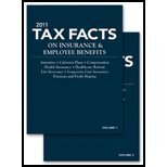 img - for Tax Facts on Insurance & Employee Benefit (11) by Editors, National Underwriter Tax & Financial Planning [Paperback (2010)] book / textbook / text book