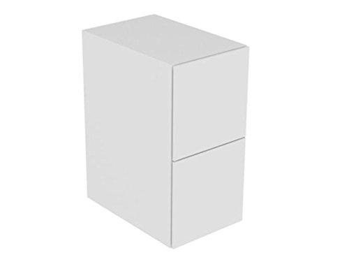 Keuco Sideboard Edition 11 31321, 2 Front Auszüge, anthrazit/anthrazit, 31321390000