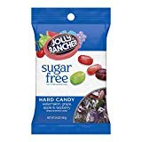 JOLLY RANCHER Hard Candy, Assorted Flavors, Sugar-Free, 3.6 Ounce Bag - PACK OF 24 by Jolly Rancher