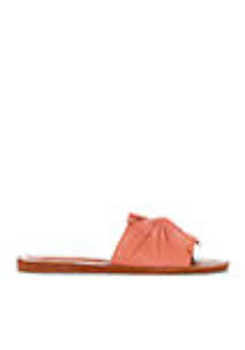 1. State Womens Chevonn Leather Open Toe Casual Slide Sandals, Blush, Size 9.5