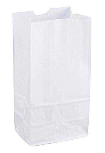 Mr. Miracle 8lb White Rainbow Paper Bags (100Pcs/Pack). ()