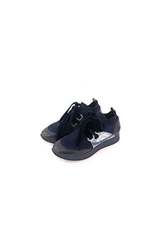 Sport Woven Blue blue Shoe Donna planetario Woman sneakers Gattinoni pqxUwntq