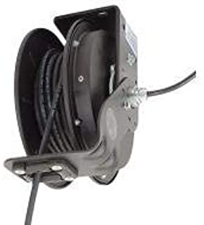 product image for Kh Industries Retractable Cord Reel, 20 Max Amps, Cord Ending: Flying Lead, 25 ft Cord Length - RTBB3LB-WW-J12F