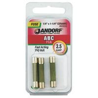 Buy jandorf fuse abc 2.5a fast acting