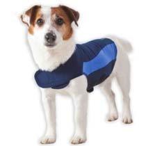 Thundershirt Drug-Free Dog Anxiety Treatment- Blue (Medium), My Pet Supplies