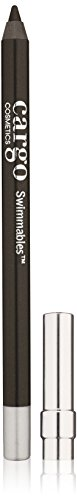 Cargo Cosmetics - Swimmables eyeliner pencil, Longwear, Water Resistant, Smudge-Proof, Black Sea
