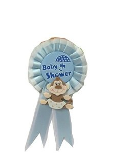 Amazoncom Baby Shower Baby Boy Monkey Badge Jungle Safari Theme