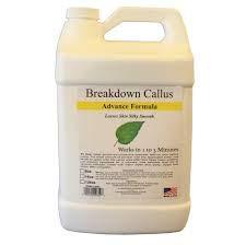BREAKDOWN CALLUS GALLON