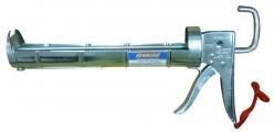 Newborn 315 Super Ratchet Rod Cradle Caulking Gun, 1/4 Gallon Cartridge, 6:1 Thrust Ratio