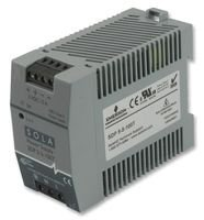 SOLA HEVI DUTY SDP5-5-100T AC-DC CONV 25W 1 O//P DIN RAIL 5V 5A