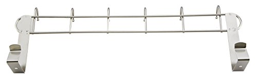 Pro Chef Kitchen Tools Over The Door Hook - General Purpose Storage Racks - 6 Coat Hooks - No Drill Towel Rack for Bathroom Storage Closet - Behind The Door Organizer Clothes Rack - Key Broom Hanger by Pro Chef Kitchen Tools (Image #6)
