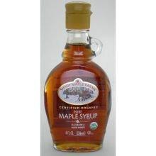 Shady Maple Farms Organic Dark Glass Maple Syrup, 8 Ounce -- 6 per - Shady Glasses