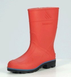 SPLASH Waterproof Boots - Red - Youth Size 2