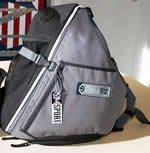 QM Traveler Back Pack Blue*
