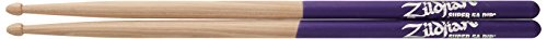 Zildjian Super 5A Wood Purple Dip Drumsticks 5a Purple Dip