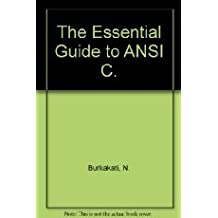 Waite Group's Essential Guide to ANSI C (Essential guide series)