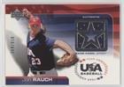 Jon Rauch #364/850 (Baseball Card) 2004 Upper Deck USA Baseball 25-Year Anniversary - Jerseys #GU-JR