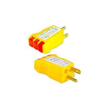 Awe Inspiring Electrical Receptacle Tester Ac Outlet Plug 3 Prong Gnd Circuit Wiring 101 Tzicihahutechinfo
