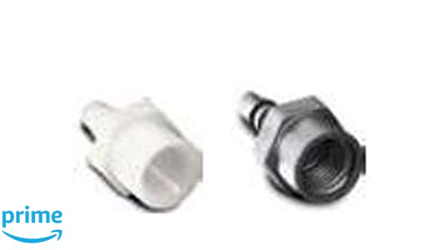 """Fuel Injection Adapter 1-1//2/"""" Hose//3//8/"""" NPT x 6/"""" Long"""