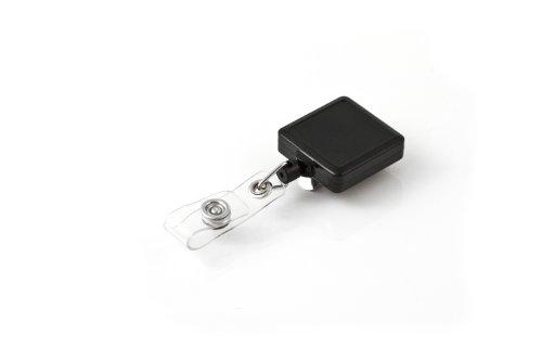 KEY-BAK RETRACT-A-BADGE 5-Pack Square Retractable I.D. Badge Reel with 36