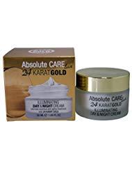 Absolute Care lux 24 Karat GOLD Illuminating Day & Night ()