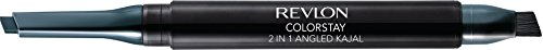 Revlon ColorStay 2-in-1 Angled Kajal Waterproof Eyeliner, Evergreen