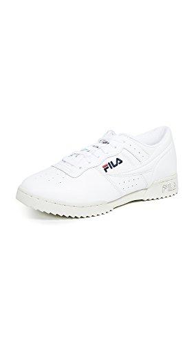 White Sneakers Fila (Fila Men's Original Fitness Ripple Sneakers, White, 8 M US)
