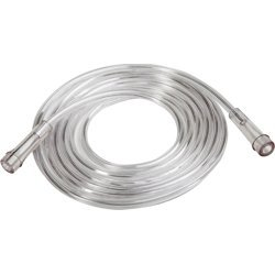 (Westmed Kink Resistant Oxygen Supply Tubing - 25' Clear, Pack of 5 (#0025))