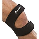 Cho-Pat Dual Action Knee Strap - Provides Full Mobility & Pain Relief for Weakened Knees - Black (X-Large, 18