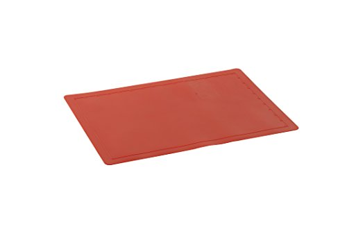 Nordic Ware Silicone Baking Mat, 11.25 -Inch by 16.25 -Inch, Red (Mat Baking Ware Non Stick Nordic)