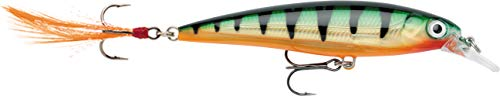 (Rapala X-Rap Jerkbait 10 Fishing lure (Perch, Size- 4))
