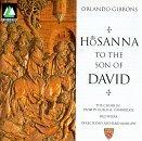 Hosanna to the Son of David by Gibbons (1995-06-13) (Hosanna To The Son Of David Gibbons)