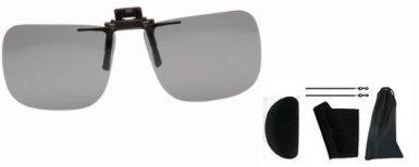 Lenti Nere Per Occhiali Da Prescrizione Con Montaggio A Clip, Unisex