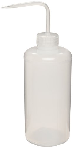 - Bel-Art Narrow-Mouth 1000ml (32oz) Polyethylene Wash Bottles; Natural Polypropylene Cap, 38mm Closure (Pack of 12) (F11618-0032)
