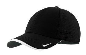Nike Golf - Dri-FIT Swoosh Perforated Cap , 429467, Black, No Size by NIKE (Image #2)