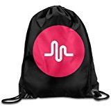 MYKKI Musical Ly Logo Funny Storage Bag