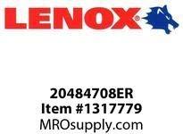 Lenox 20483608ER E-RECIP-608ER 5 1/2 X1X062X 8-140X25X16X32 (Pack of 5) by Lenox Tools