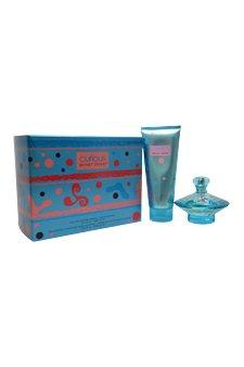 (Curious by Britney Spears for Women - 2 Pc Gift Set 3.3oz EDP Spray, 6.8oz Body Souffle)