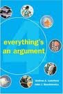 Everything's an Argument with Readings : With 2001 APA Update, Ruskiewicz, John and Lunsford, Andrea A., 0312397399