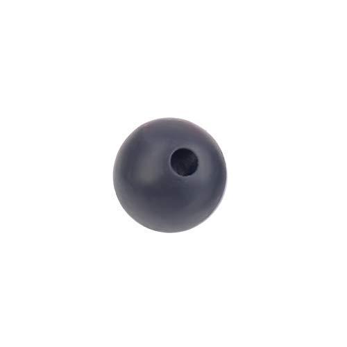 Hebel 20PCS Silicone Beads Teething Necklace DIY Safe Nursing Round Rainbow Hot | Model NCKLCS - 36075 | ()