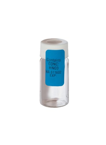 Thermo Scientific Pre-Preserved Environmental Sample Container, 40 mL Septa Vial, 0.5 mL 1:1 HCL (Case of 72)