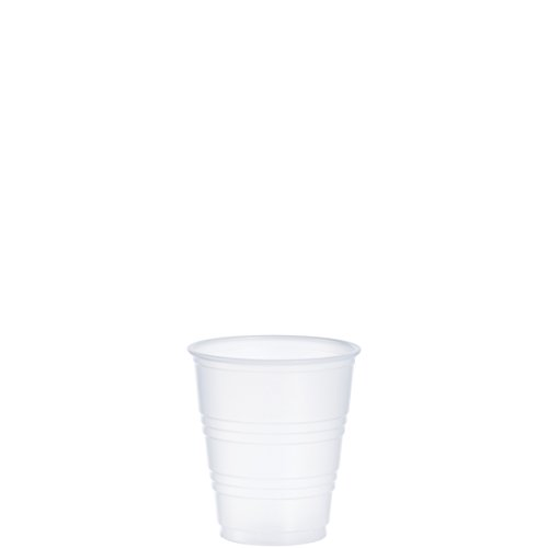 Dart Y5 5oz Cold Cup Tanslucent (Case of 2500) ()